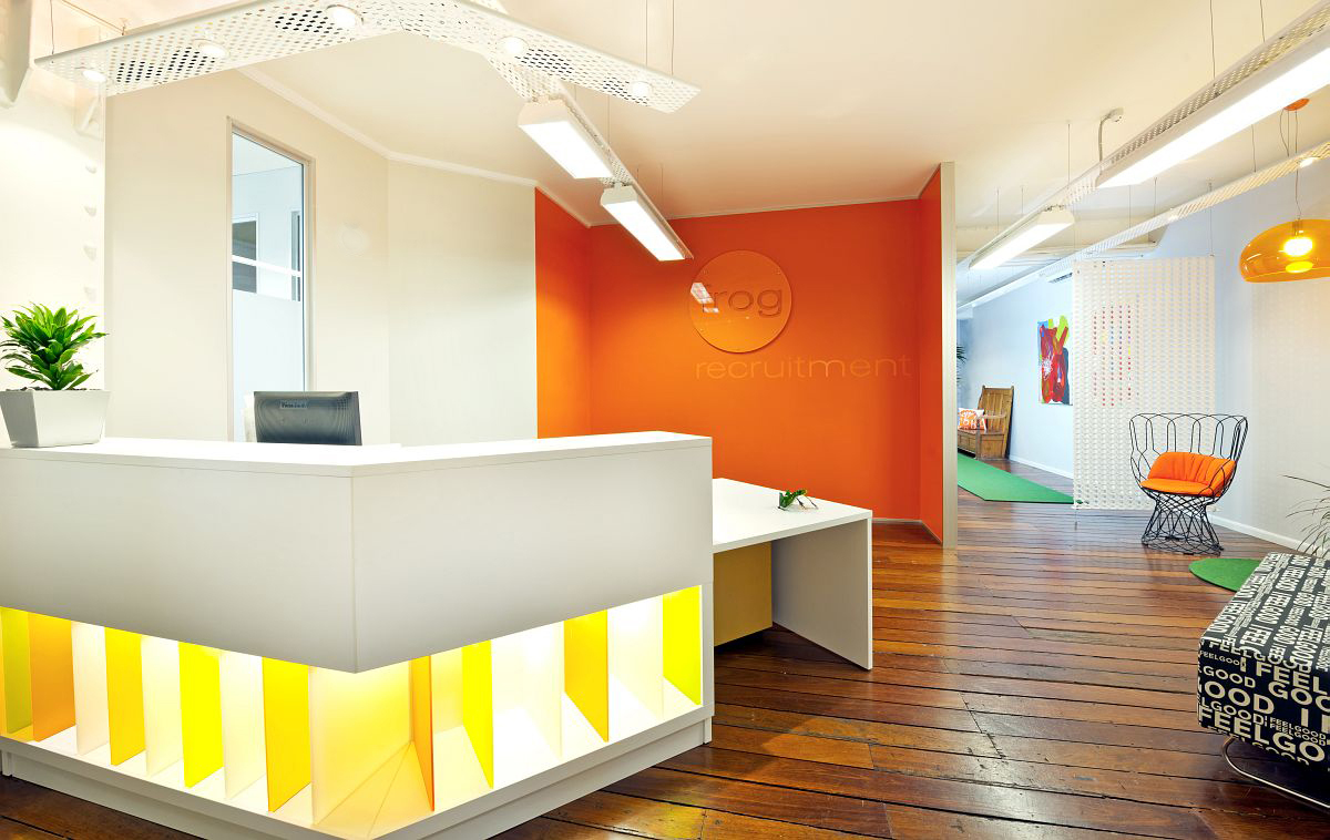 Reception and Office Interior Design by Modern Concepts Brisbane
