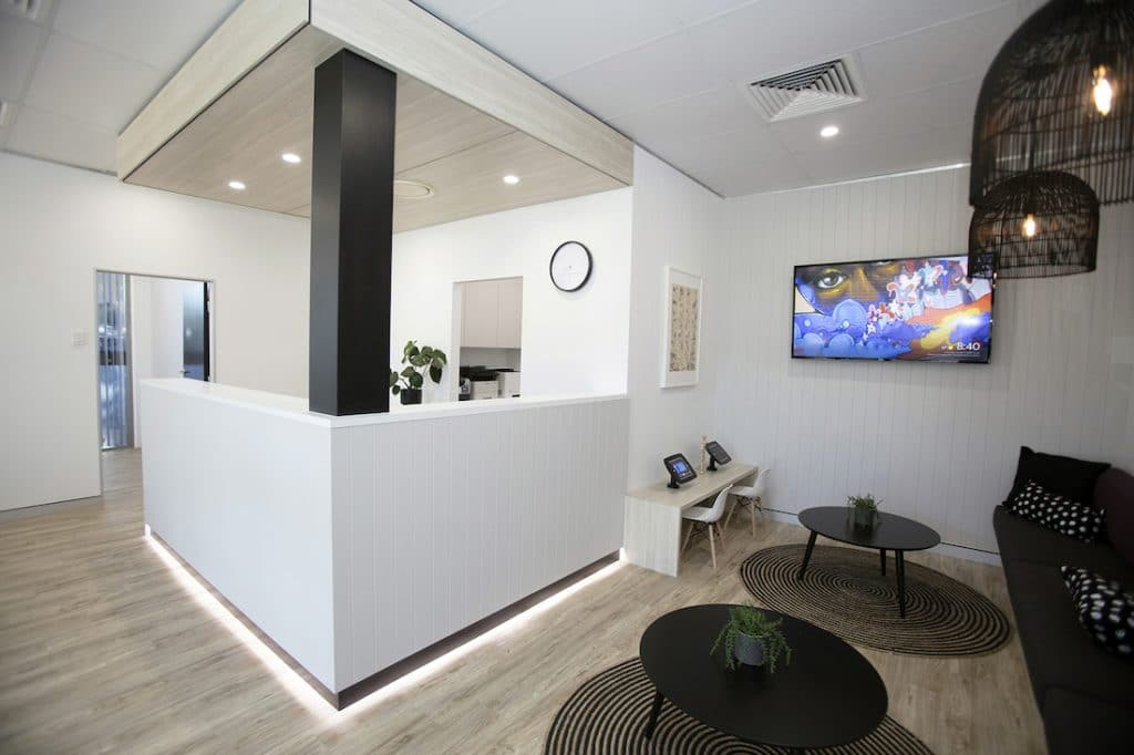 Brisbane dental surgery fitout by Modern Concepts